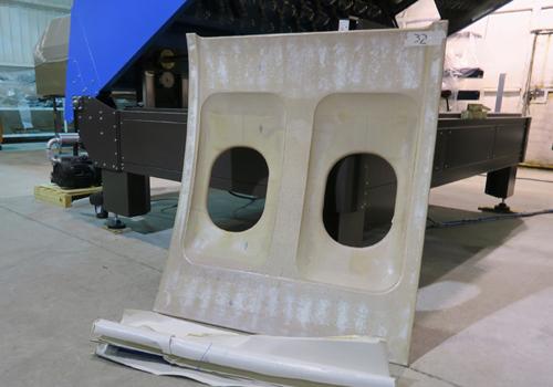 Stripping Laminates from Aircraft Panels