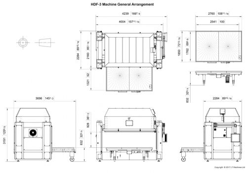 HDF-3 General Arrangement Drawing