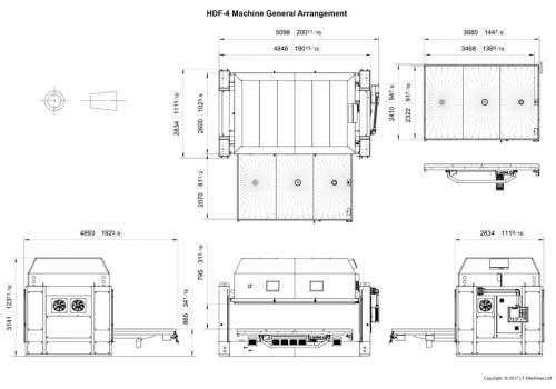 HDF-4 General Arrangement Drawing