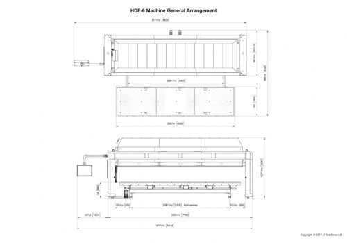 HDF-6 General Arrangement Drawing